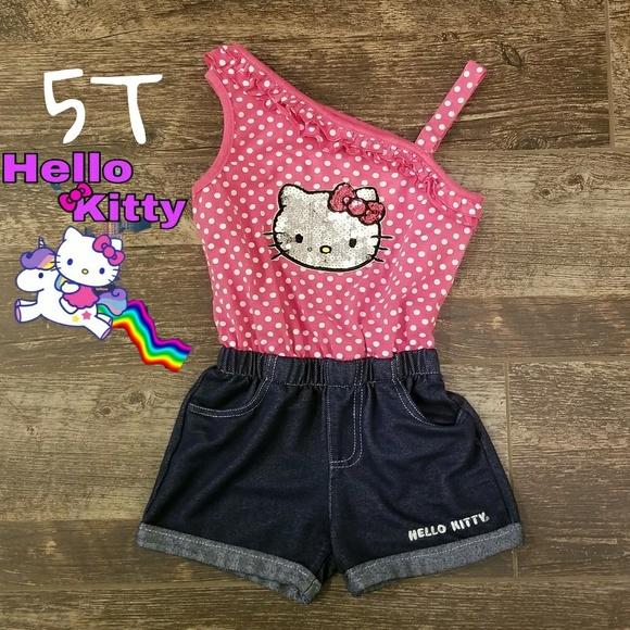 d8569fc4b Hello Kitty 5t girls romper. M_5a713c75a825a6ccfef9f495